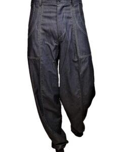 Alice Jeans Blue Scuro Cotone Bianco